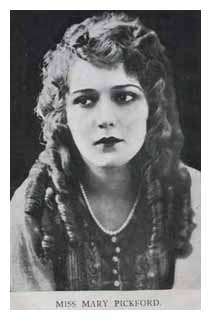 Postcard of Mary Pickford. Image © The Bill Douglas Cinema Museum